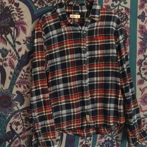 Hollister Co Flannel